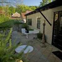 Main cottage patio