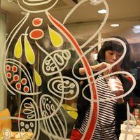 「Rendez-Vous - A TASTE OF JAPAN -」ライブペインティング@CRESTRA Hauserman 2014