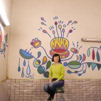 紀の国トレイナート2014湯川駅壁画