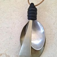 Two Big Spoon and Handle