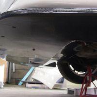 アンダーリップスポイラーは、バンパー下部を覆うアンダーパネル形状です。