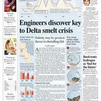 Delta Smelt Crisis