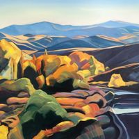 Boise Foothills Autumn Splendor - SOLD