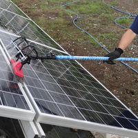 ソーラーパネル清掃