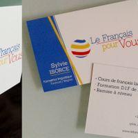 Le Français pour vous - Global visual identity