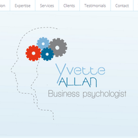 Yvette Allan - Website's design & general presentation for an autonomous use