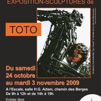 expo perso toto sculpteur à La Ville du Bois
