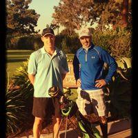 Great early morning lap around Costa Mesa CC with Dr Z (Joe Zappala), 11-26-14