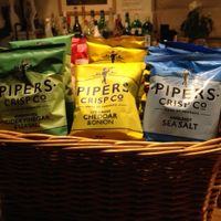 Pipers crisps - yum!
