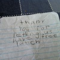 The notes that make it all worth it.
