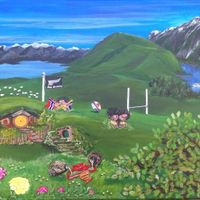 Family Story - New Zealand, Norway, Hobbiton, twins, carnations, oak tree and rugby