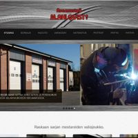 Asennustyö M. Ahlqvist Oy:n uusien verkkosivujen suunnittelu ja toteutus