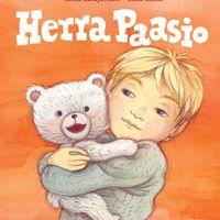 Herra Paasio, kirjan kansi, taitto ja kuvitus, Karisto (2014), digitaalinen tiedosto