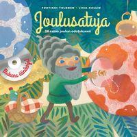 Joulusatuja, kirjan kansi, kuvitus ja taitto, Tammi (2013), guassi