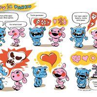 Pupu ja Takku, sarjakuva lastenkirjallisuuslehti Vinskissä (2014), digitaalinen tiedosto