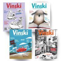 Taitto, Lastenkirjallisuuslehti Vinski, 4 nroa / 2014