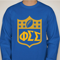 Phi Sigma Sigma Powderpuff Shirt (front)