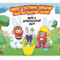 Hasbro Printable Easter Card