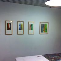 december 2013 exhibition of my pastels