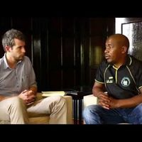 Erik de Ridder in conversation with Mzwandile Masina