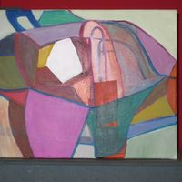 composition organique - acrylic cm. 30X40