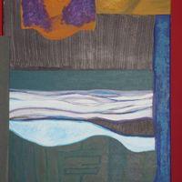 les vagues - acrylic cm. 40X50