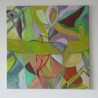 untitled 2 - acrylic cm.60X60