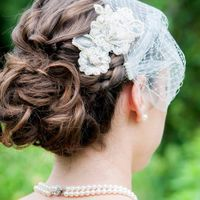 Hair by Samantha Drake.  Bridal hair, bridal makeup. Upstyle, updo, wedding, low bun, wedding hair Boston.