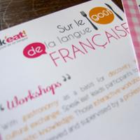 Speak'eat  - Print materials, global visual identity