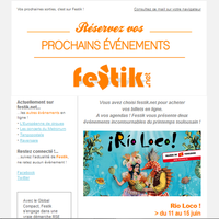 Festik - Newsletter, general presentation for an autonomous use