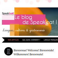 Speak'eat - Blog's design & general presentation for an autonomous use