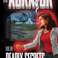 The AURATOR sci-fi book cover