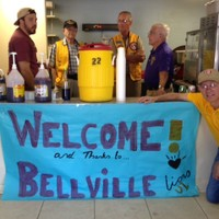 Bellville Lions serving cold drinks for the Lions Camp campers-2015