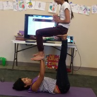 Acro yoga with Teens in New Jersey