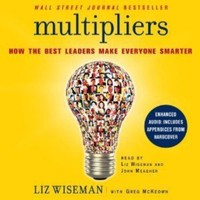 National book launch campaign for Multipliers by Liz Wiseman and Greg McKeown