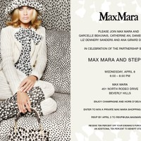 Daniella Peters Hosts MaxMara and Step Up