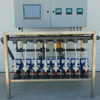 Electronic Fertigation with 8 Injectors