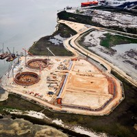 LNG station construction - Pascagoula