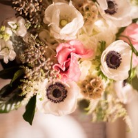Nantucket Wedding Details.  Floral design by Soiree Floral, photography by Liza Voll.