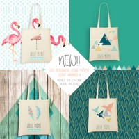 communication digitale sur lancement totebag