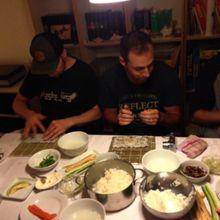Sushi workshop in Berlin