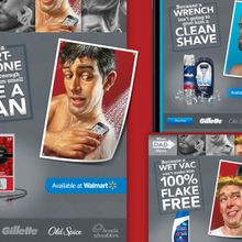 P&G Father's Day Promo on Walmart.com
