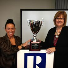 Iowa Association of REALTORS® Receives the NAR President's Cup.