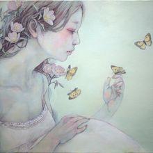 花盛り-昼咲草ー F4 Canvas
