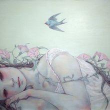花盛りー昼顔ー F4 Canvas