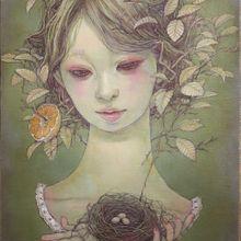 春の予感ーノジコー SM Canvas