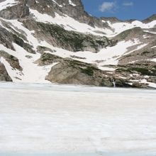 Blue Lake in July