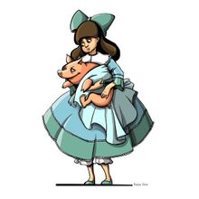 Alice with Pig