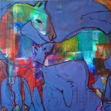Blue Foal /SOLD