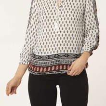 Boho printed blouse manufactured for Dorothy Perkins